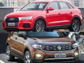 VW T-Cross Highline ou um Audi Q3 2017?