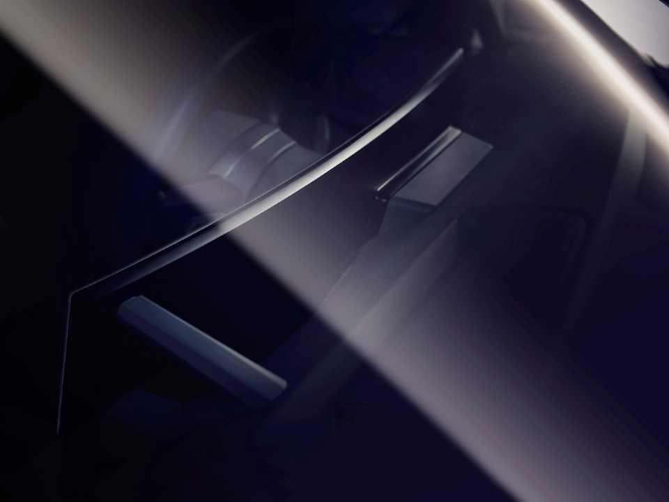 Acima o novo conceito de painel digital da BMW