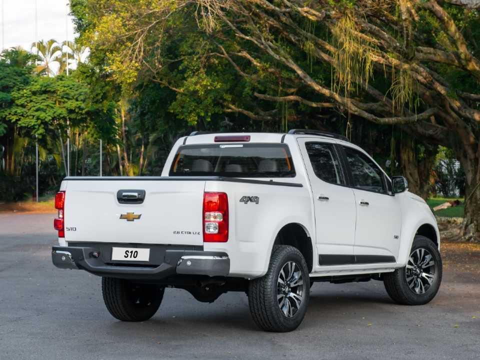 ChevroletS10 2020 - ângulo frontal