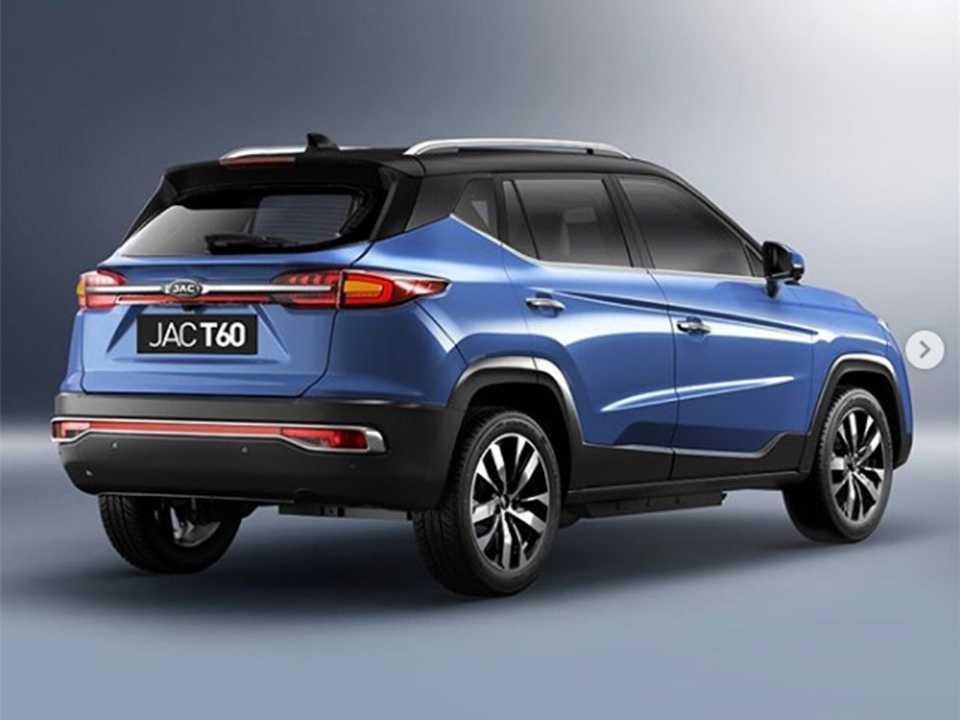 Acima o JAC T60, que será vendido no Brasil a partir de 2020, em imagem divulgada pela JAC Motors no Instagram