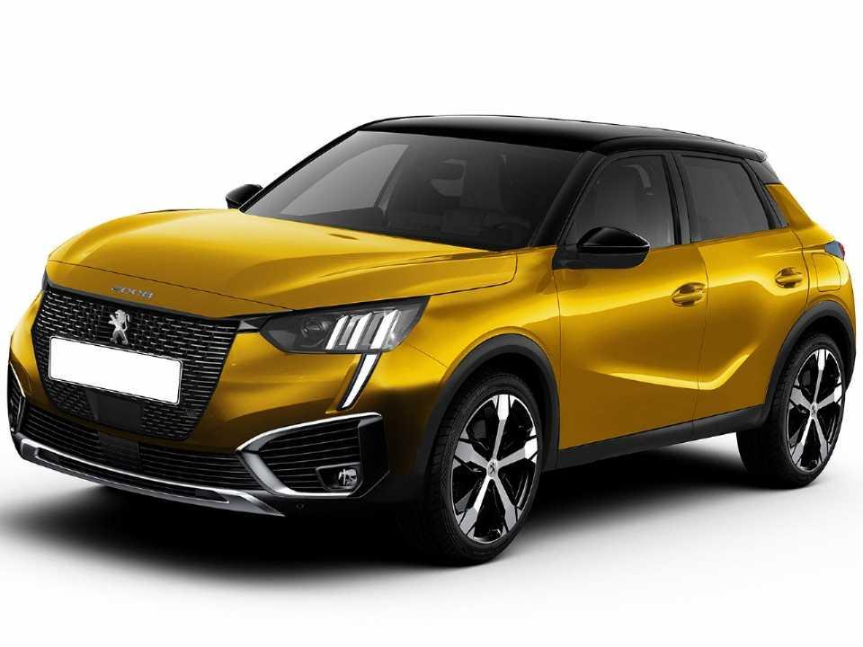 Projeção de Kleber Silva antecipando o que podemos esperar para a segunda geração do Peugeot 2008