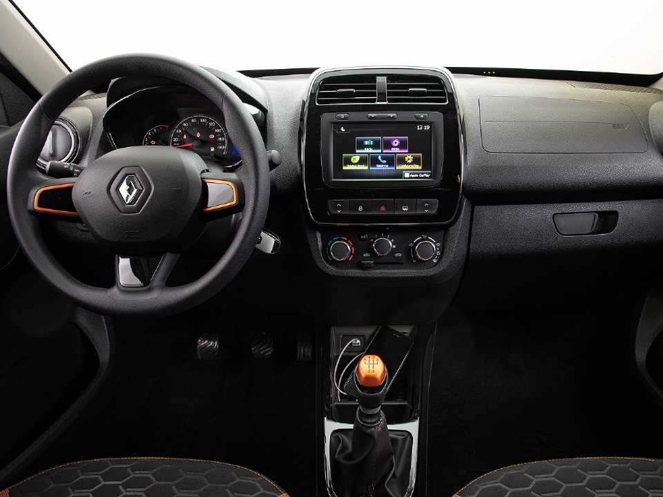 RenaultKwid 2020 - painel