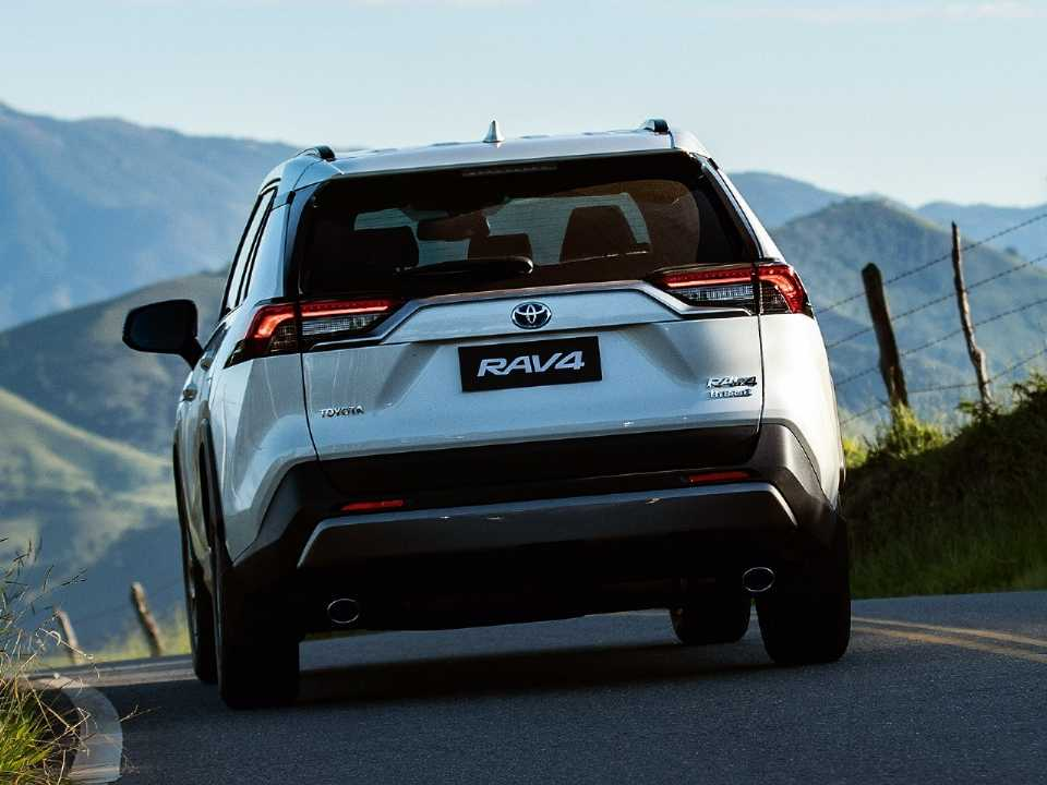 ToyotaRAV4 2019 - traseira