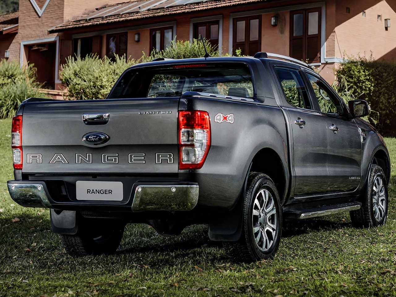 galeria de fotos  ford ranger 2020 chega ao mercado com novo visual e mais equipada