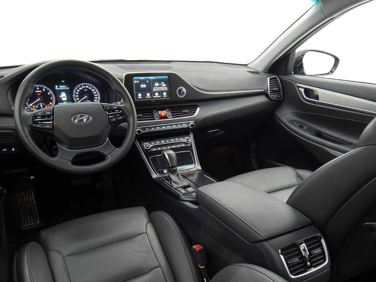 HyundaiAzera 2019 - painel