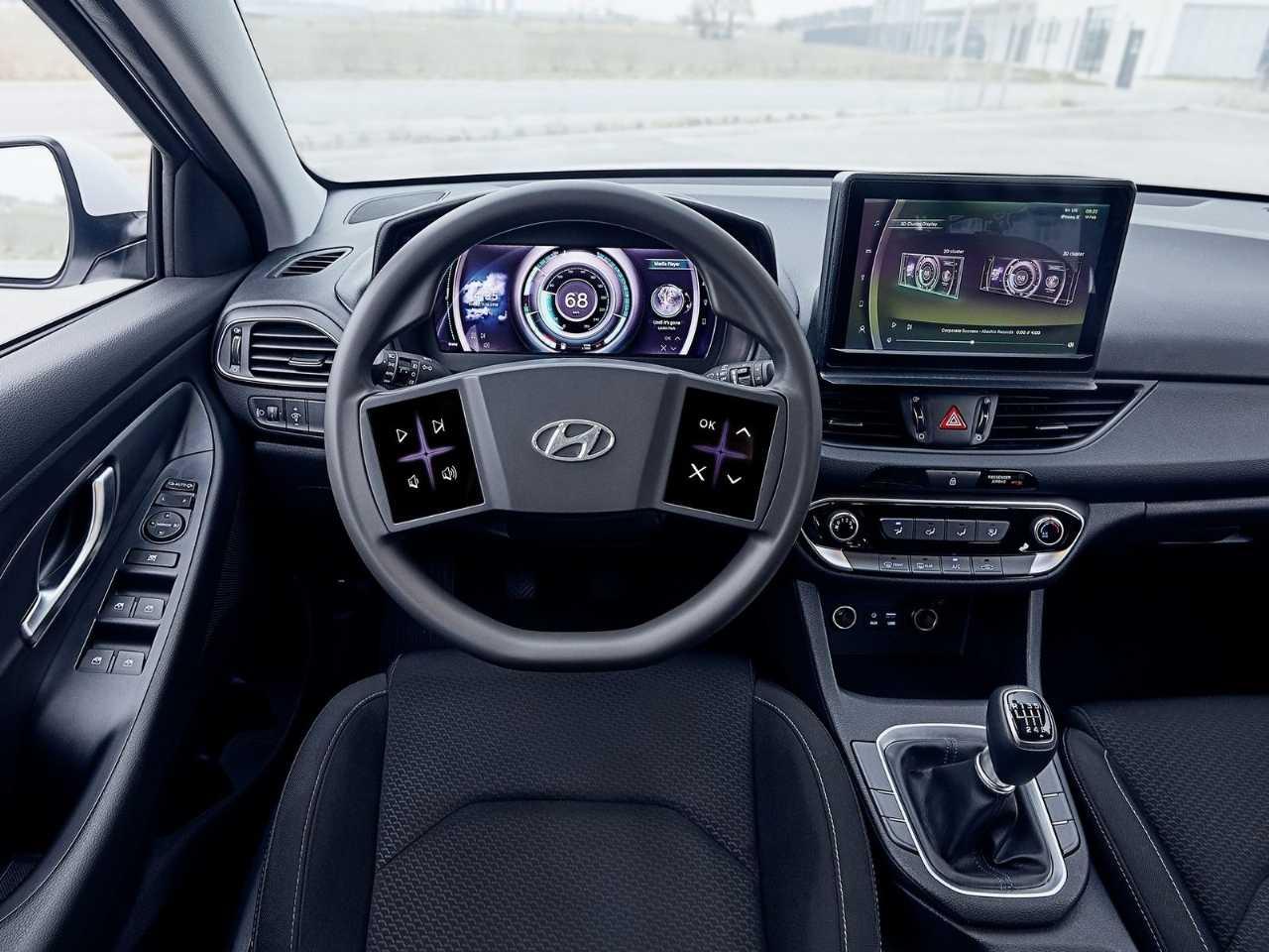 Hyundaii30 2020 - painel