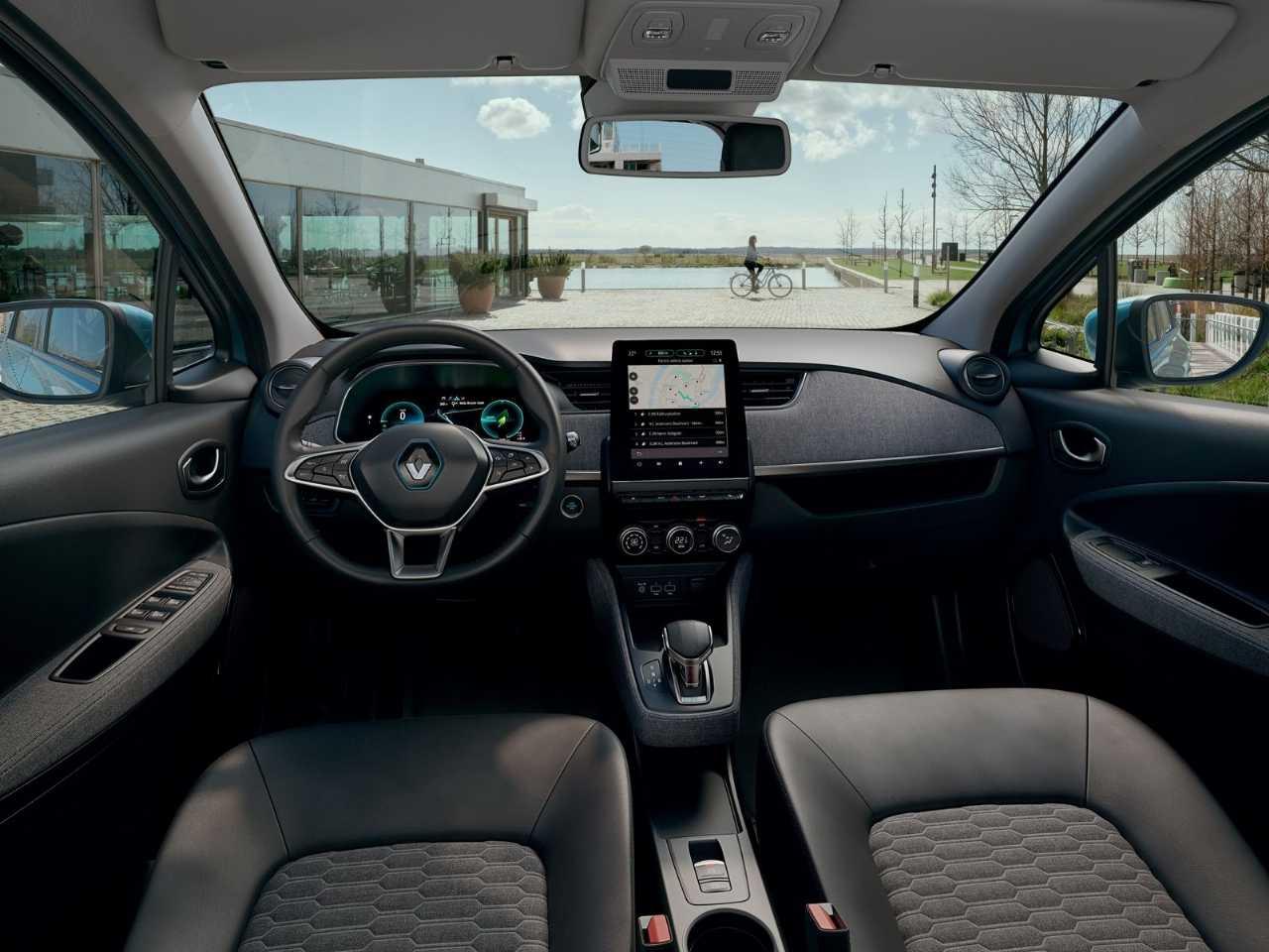 RenaultZoe 2020 - ângulo frontal