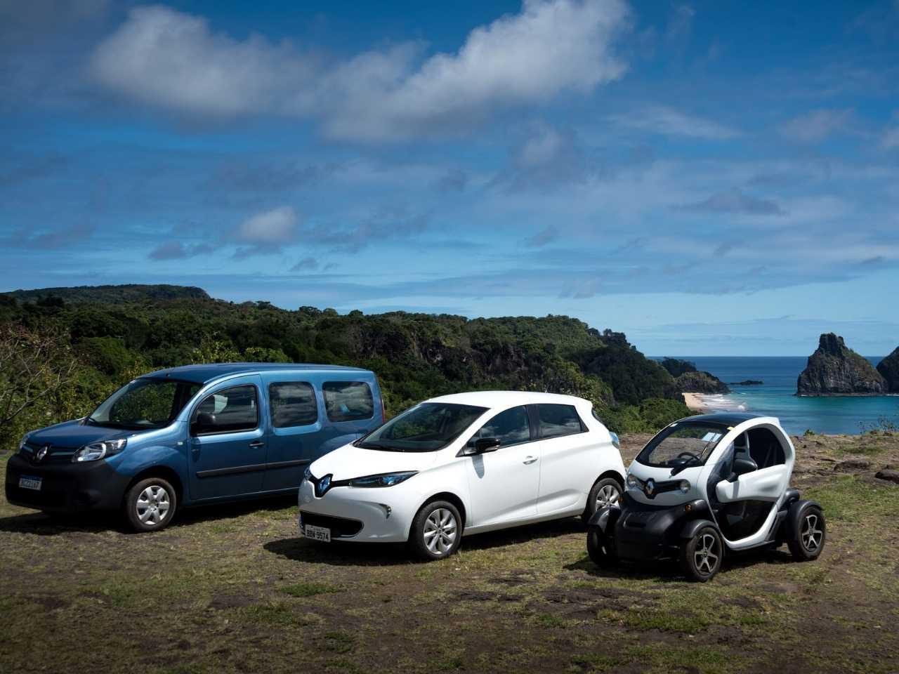 Renault Kanzoo Z.E., Twizy e Zoe