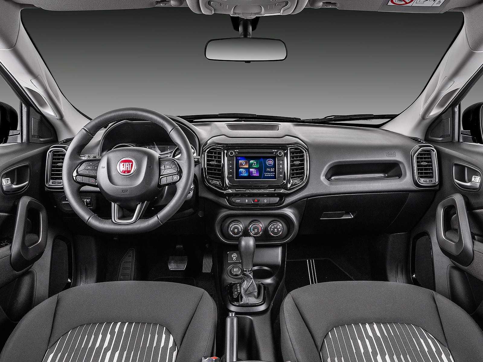 FiatToro 2019 - painel