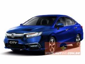 Exclusivo: veja como ficará o novo Honda City em 2020