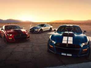 Novo Mustang Shelby GT500 2020 passa a entregar 770 cv