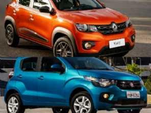 Duelo de pequenos: Renault Kwid ou um Fiat Mobi?