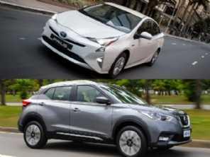 Toyota Prius ou um Nissan Kicks?