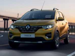 Renault Triber, o Kwid 7 lugares, é revelado na Índia