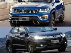 Um Honda HR-V Touring 2020 ou um Jeep Compass Limited Diesel?