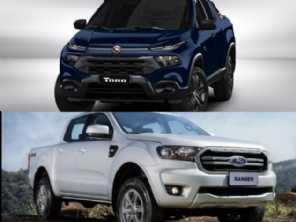 Picapes diesel: Toro Endurance 2020 ou uma Ranger 2.2?