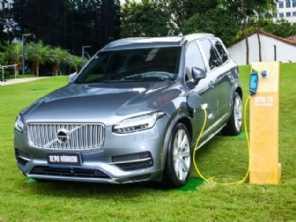 Com sucesso de seus híbridos, Volvo cresce 36% no Brasil