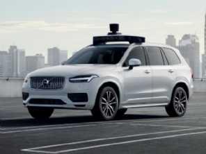 Uber e Volvo apresentam o XC90 autônomo de produção