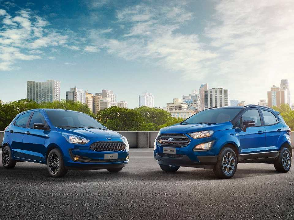 Ford Ka e EcoSport na série especial 100 Anos