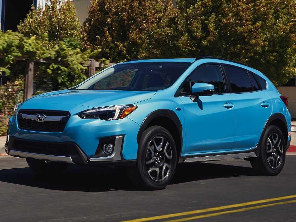 O Crosstrek Hybrid já é um modelo beneficiado pela parceria entre Subaru e Toyota
