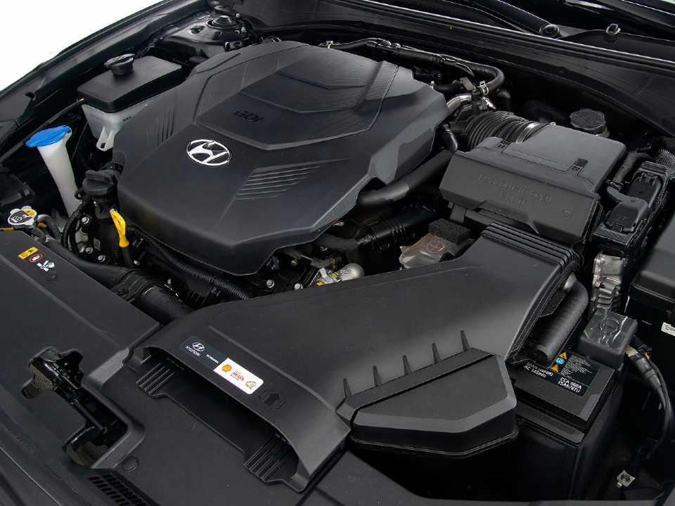 HyundaiAzera 2019 - motor