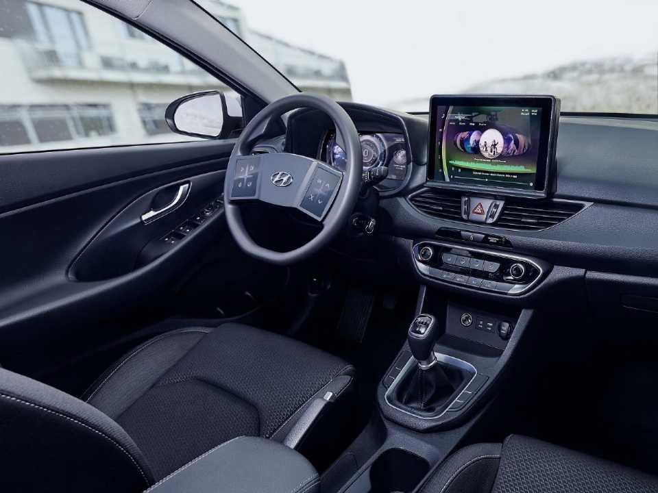 Hyundaii30 2020 - console central