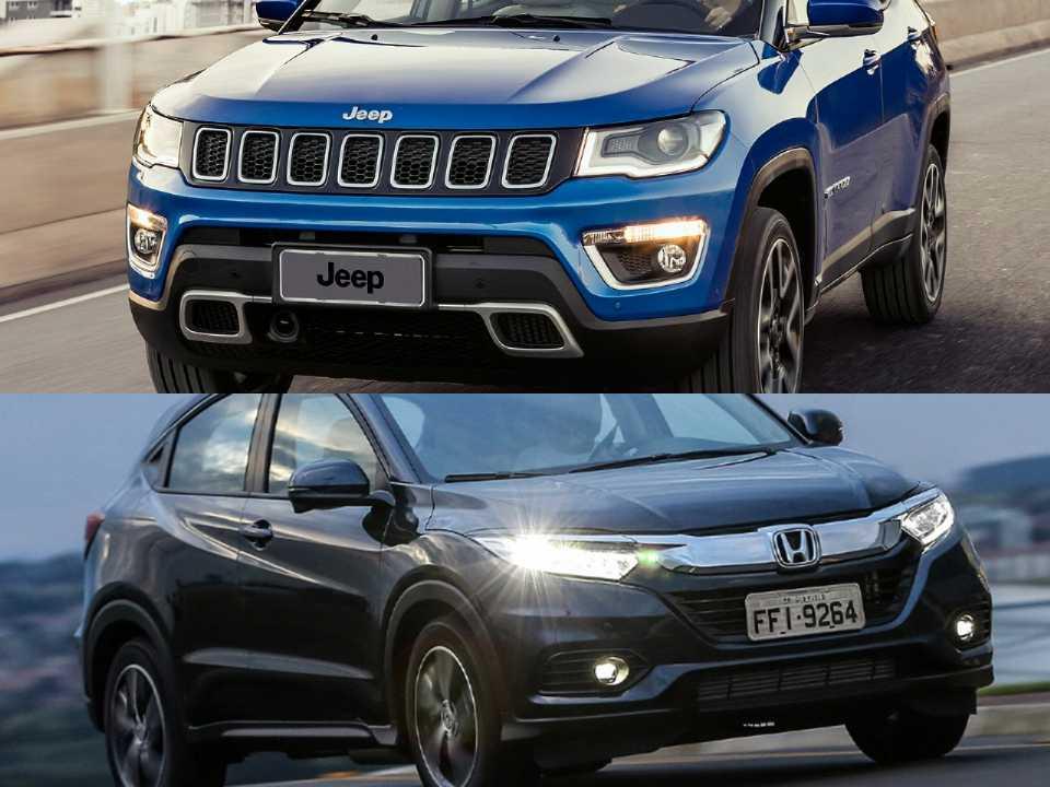 Jeep Compass e Honda HR-V