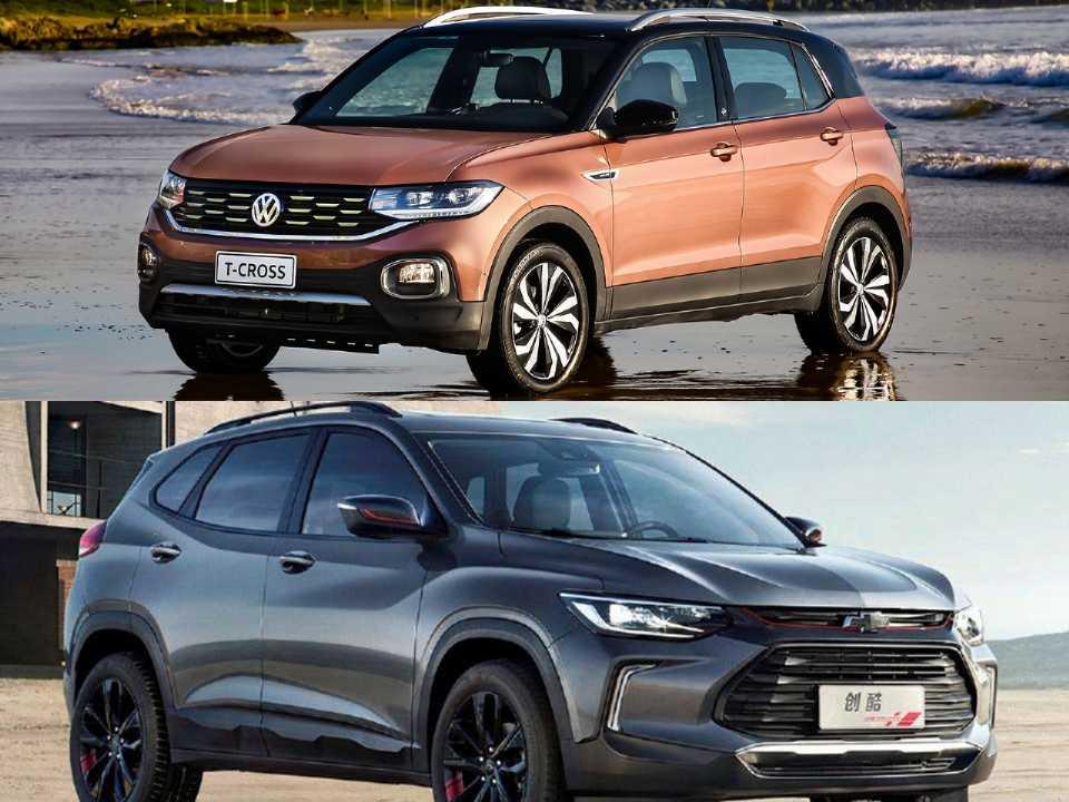 Volkswagen T-Cross e a nova geração do Chevrolet Tracker