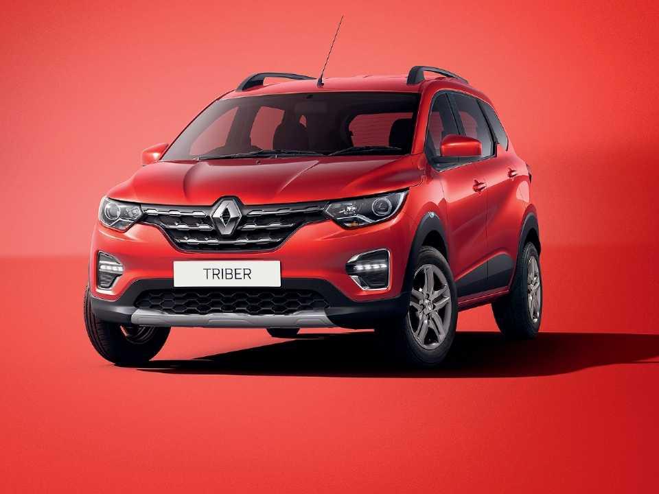 Acima o indiano Renault Triber