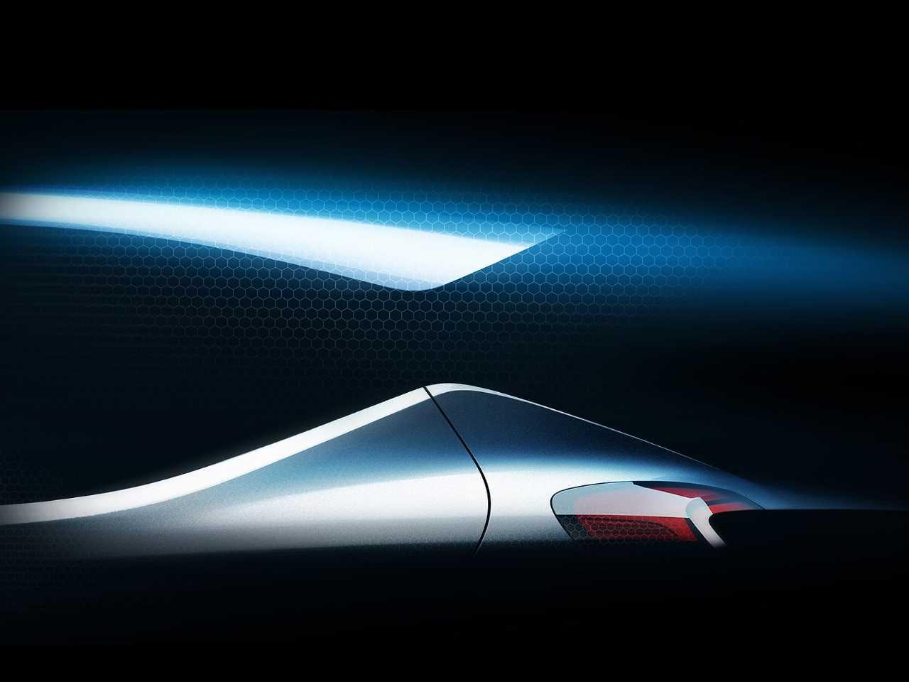 Primeiro esboço do modelo que a Hyundai vai revelar no Salão de Frankfurt neste ano