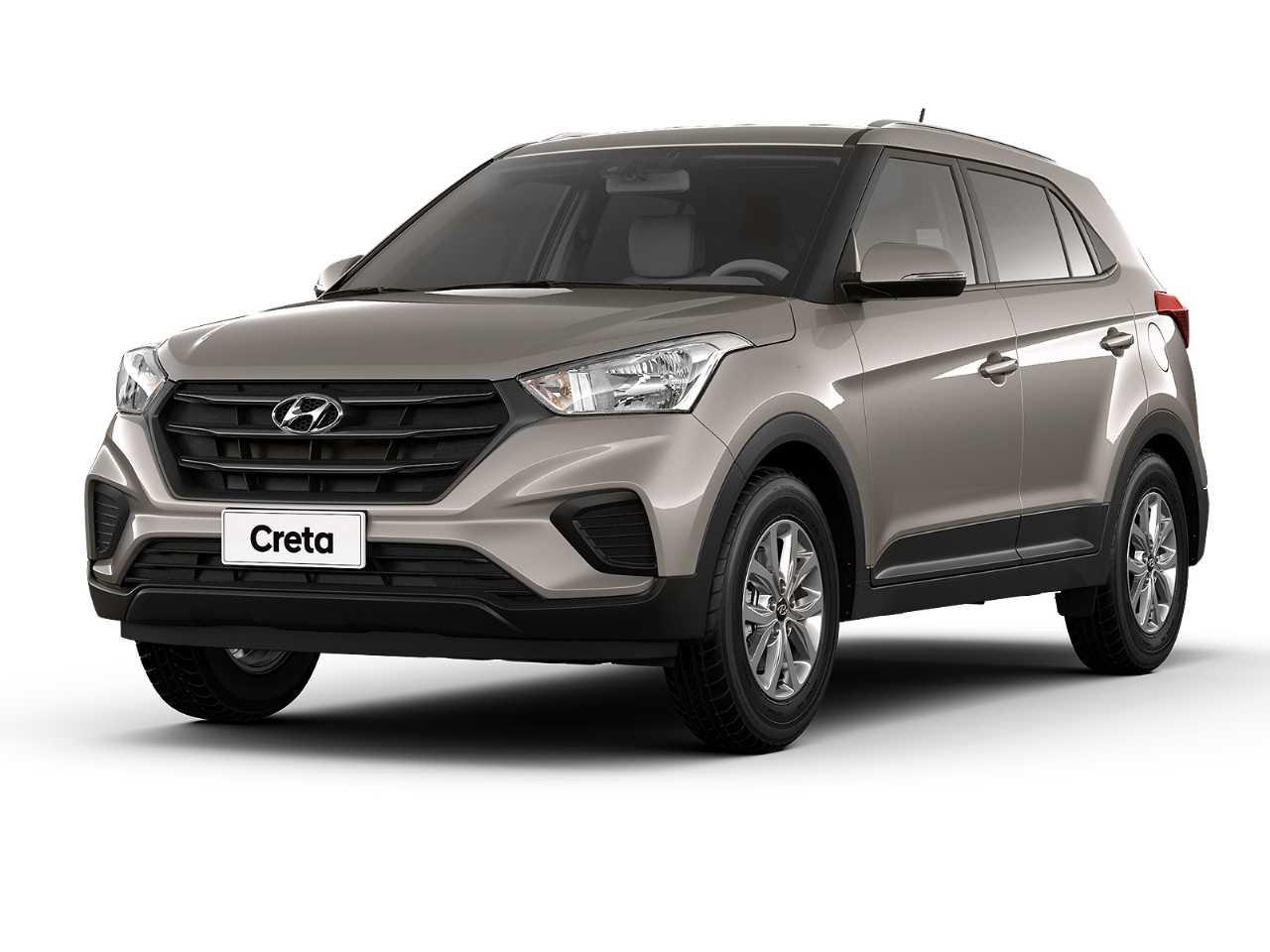 HyundaiCreta 2020 - ângulo frontal