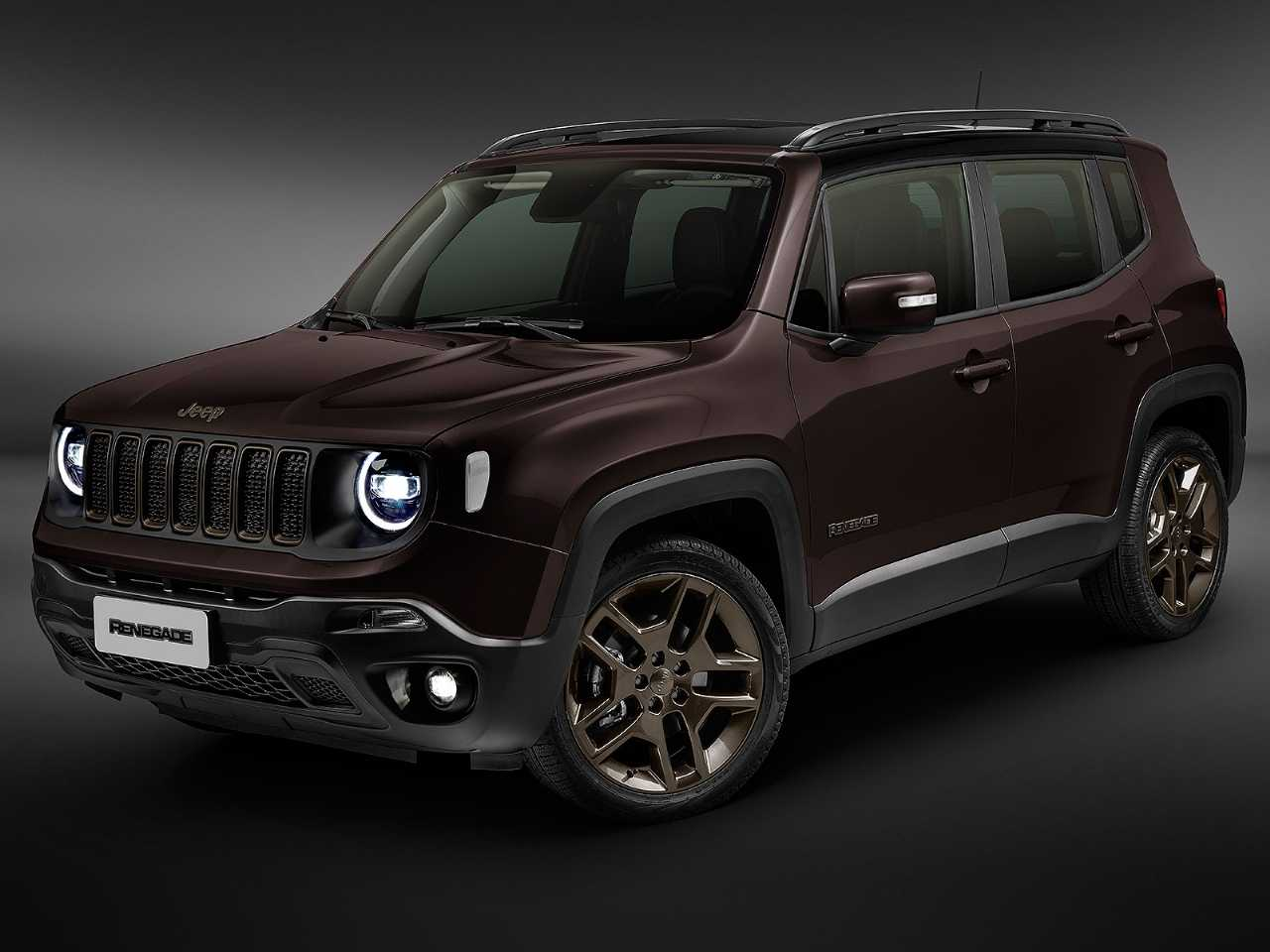Jeep Renegade 2020 - ângulo frontal