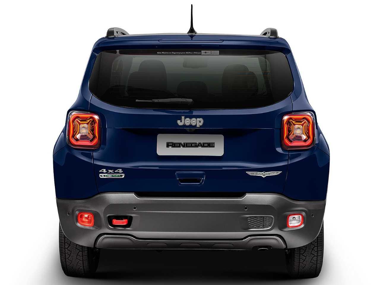 JeepRenegade 2020 - traseira