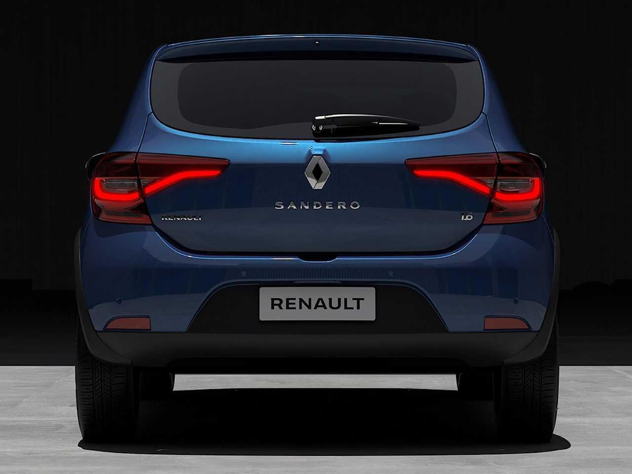 RenaultSandero 2020 - traseira