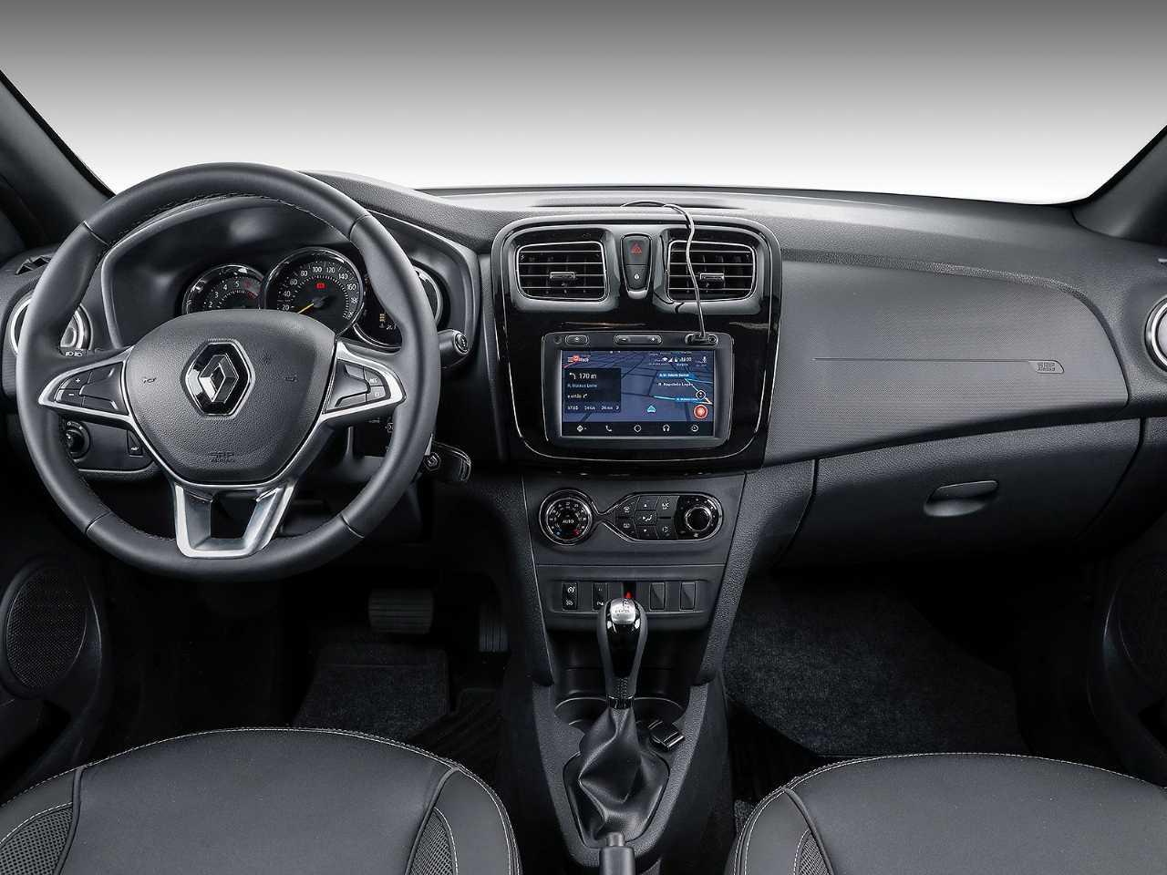 RenaultSandero 2020 - painel