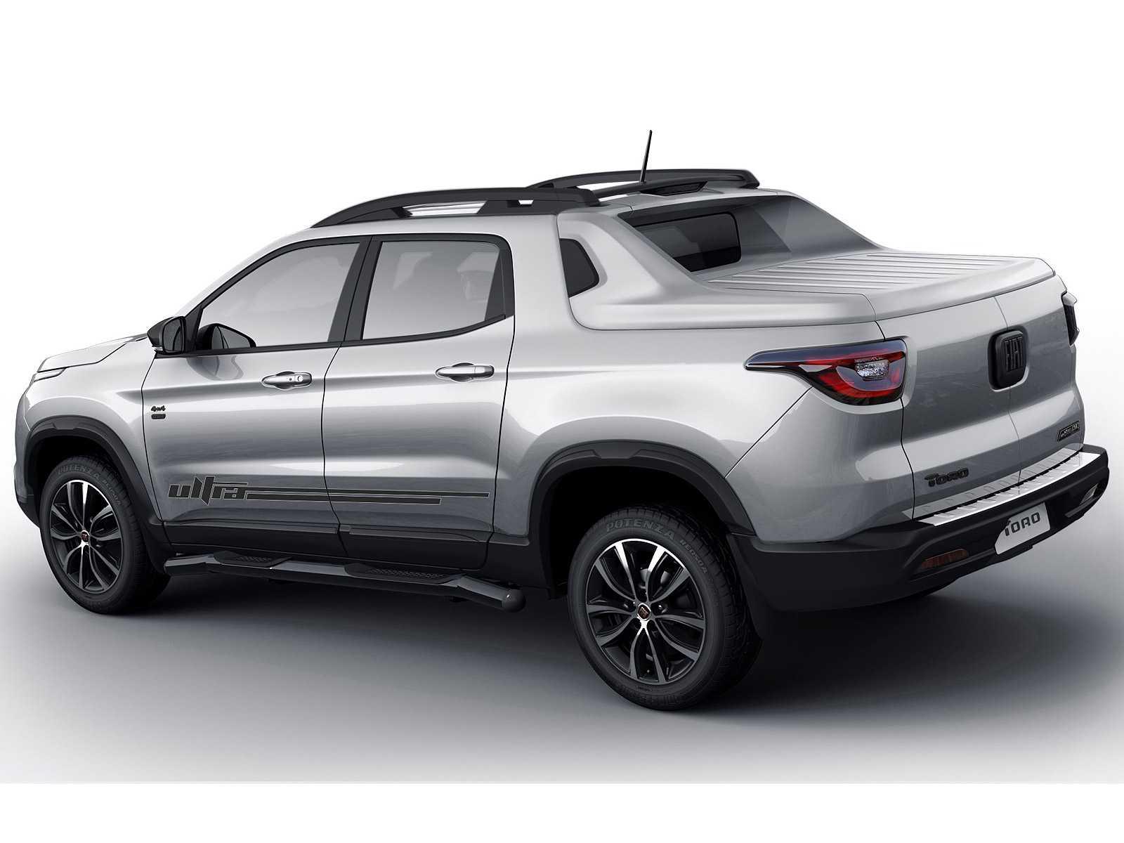 FiatToro 2020 - ângulo traseiro