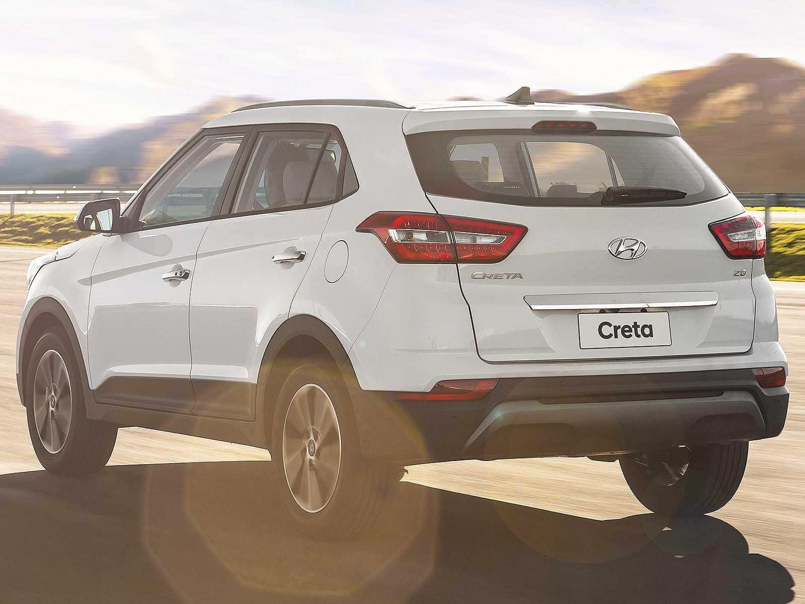HyundaiCreta 2020 - ângulo traseiro