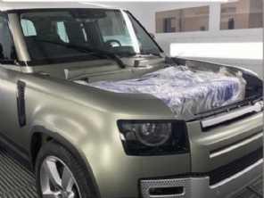 Flagra: nova foto do Land Rover Defender 2020 antecipa a dianteira
