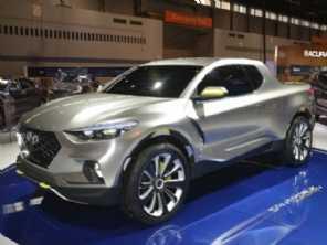 Picape Santa Cruz da Hyundai deverá ser feita nos EUA