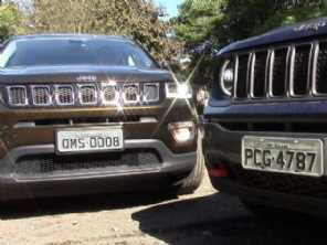 Jeep vs. Jeep: por R$ 127.990, comprar um Renegade diesel ou um Compass flex?