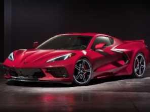 Primeiro Chevrolet Corvette C8 é leiloado por US$ 3 milhões