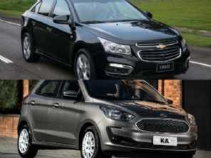 Carro novo ou usado: Ka SE Plus 0 km ou um Cruze 2015?