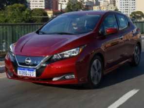 Avaliação rápida: Nissan Leaf 2020