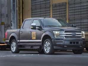 Protótipo da Ford F-150 elétrica desloca 10 vagões e mais de 450 toneladas!