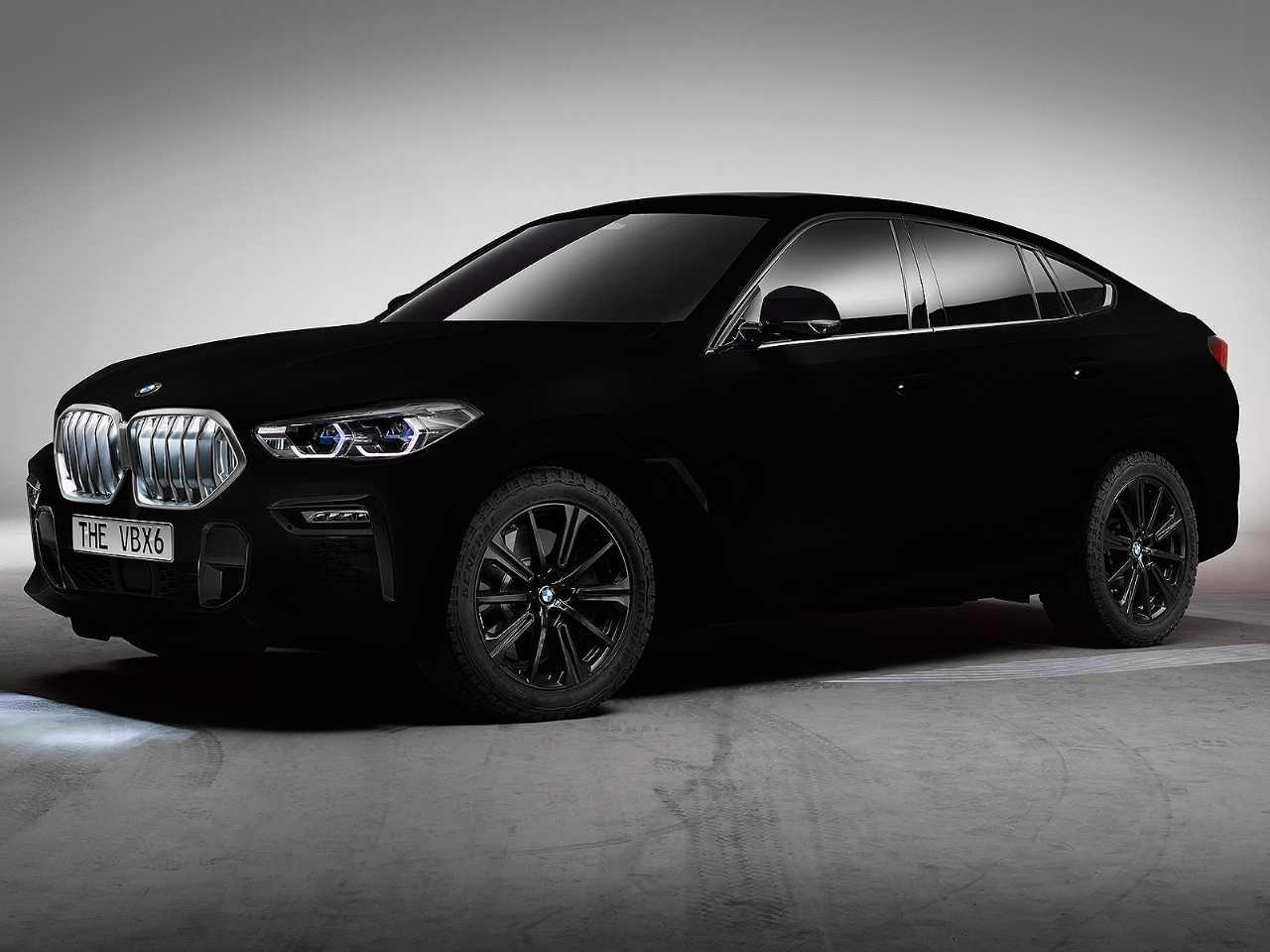 BMW Vantablack X6