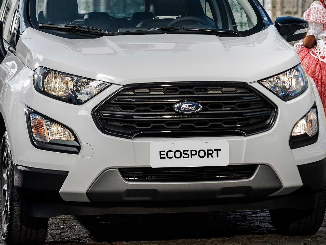 Acima detalhe do Ford EcoSport FreeStyle 2020