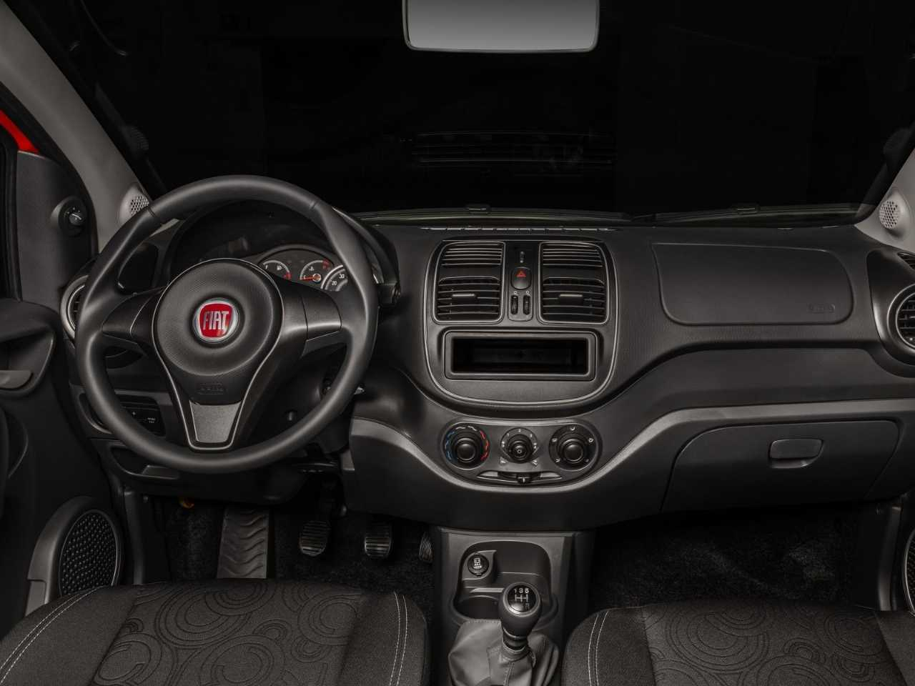 FiatGrand Siena 2020 - ângulo frontal