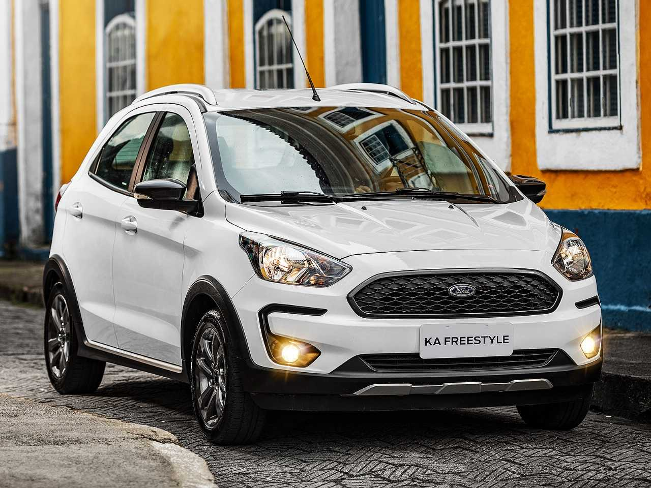Ford Ka 2020 - ângulo frontal