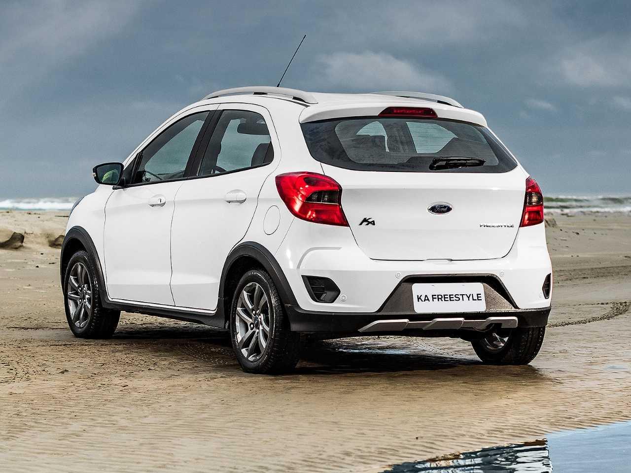 FordKa 2020 - ângulo traseiro