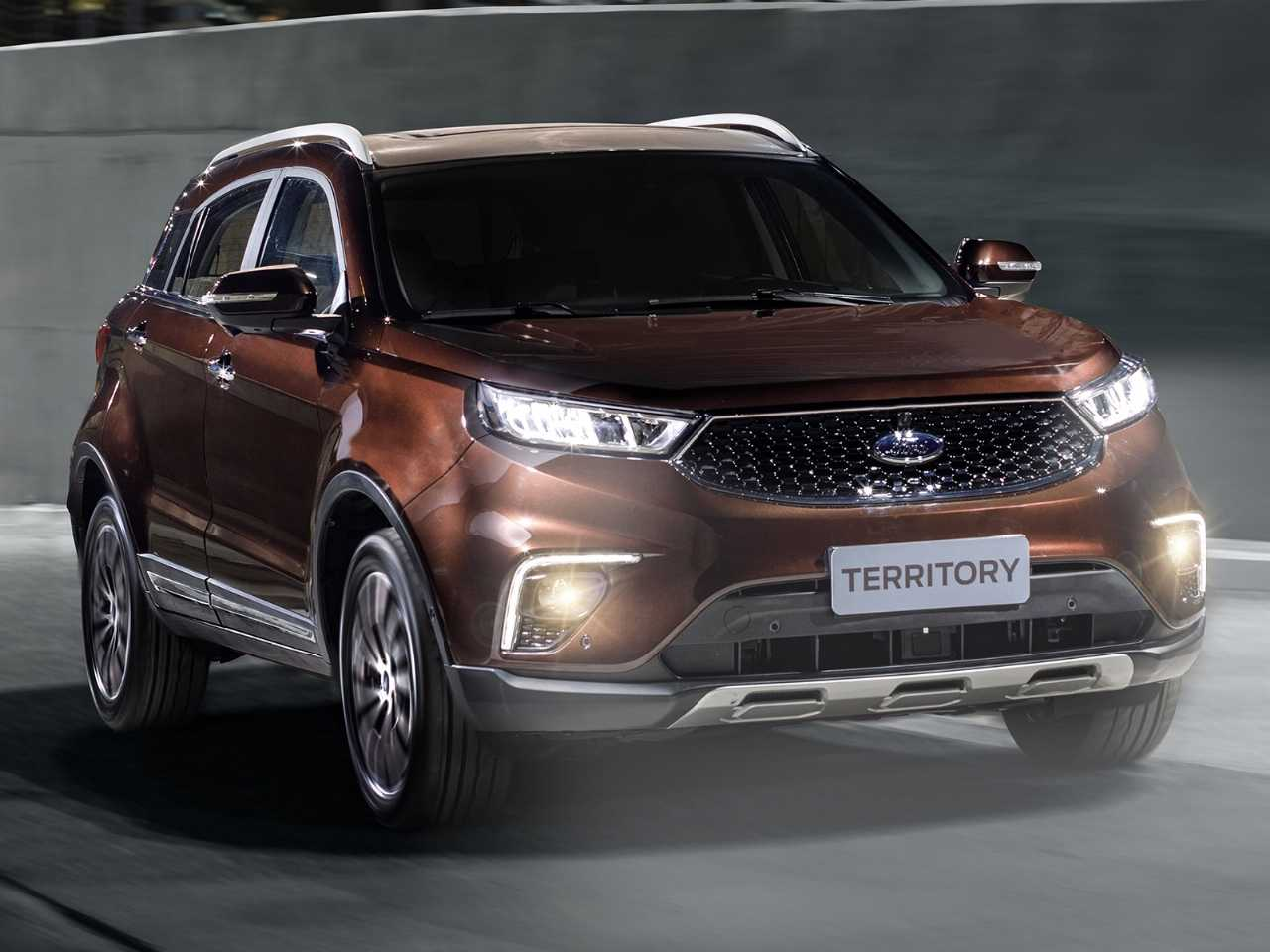 Ford Territory 2020 - ângulo frontal
